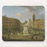 Cruz de Charing, con la estatua de rey Charles I a Tapetes De Ratones