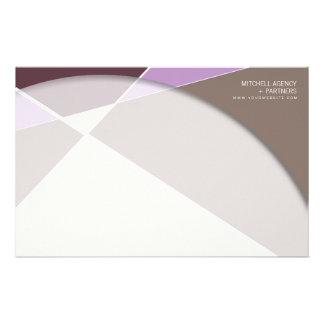 Cruz de Criss * efectos de escritorio púrpuras del Papeleria Personalizada