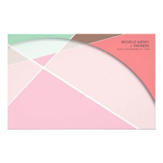 Cruz de Criss * efectos de escritorio rosados de l Papeleria