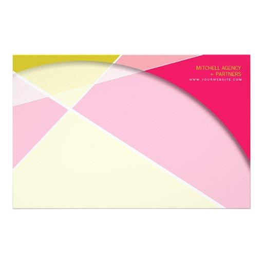 Cruz de Criss * efectos de escritorio rosados fucs Papelería Personalizada