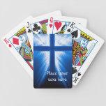 Cruz de Cristo Baraja Cartas De Poker