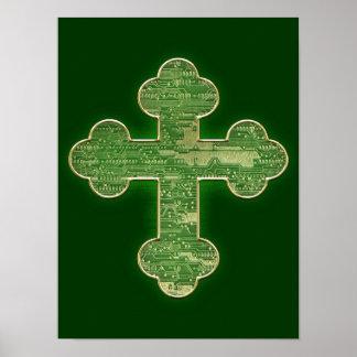 Cruz de Digitaces Póster