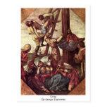 Cruz de Jacopo Tintoretto Tarjetas Postales