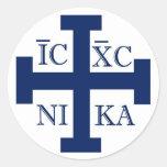 Cruz de Jerusalén Etiquetas