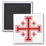 Cruz de Jerusalén Imán Para Frigorífico