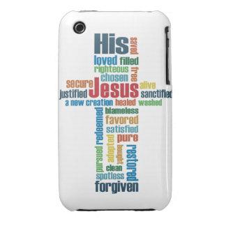 Cruz de Jesús Funda Para iPhone 3