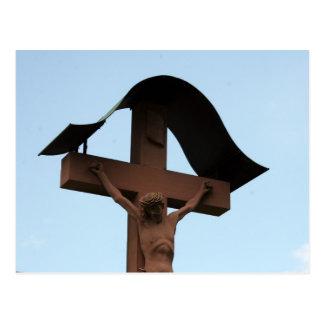 cruz de Jesús Tarjeta Postal