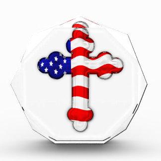 Cruz de la bandera americana