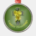 Cruz de la bendición de Pascua Adorno