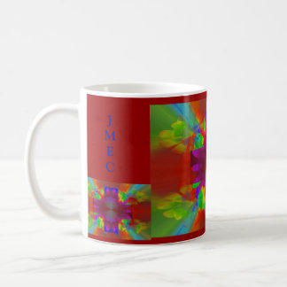 Cruz de la brillantez tazas de café