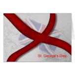 Cruz de la celebración del día de San Jorge de San Tarjetas