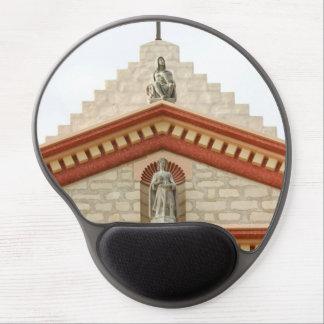 Cruz de la misión de Santa Barbara Alfombrilla De Ratón Con Gel