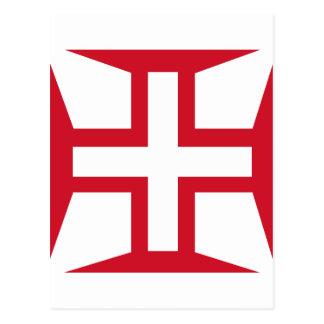 Cruz de la orden de Cristo Postales