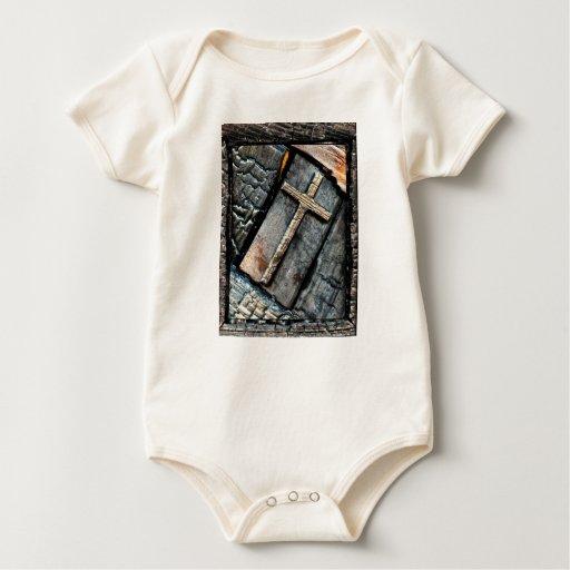 Cruz de la protección body de bebé