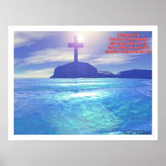 Cruz de la salvación póster