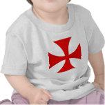 Cruz de los caballeros Templar Camiseta