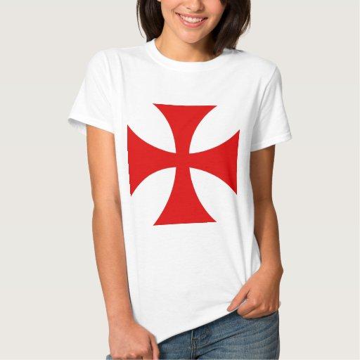 Cruz de los caballeros Templar Poleras