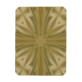 Cruz de madera abstracta del modelo imán flexible