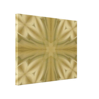 Cruz de madera abstracta del modelo impresión en lona estirada