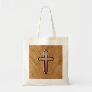 Cruz de madera bolsa