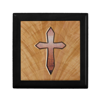 Cruz de madera cajas de recuerdo