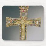 Cruz de oro de Essen Alfombrillas De Ratones