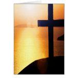 Cruz de oro felicitación
