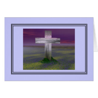 Cruz de Pascua Felicitacion