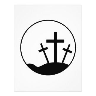 Cruz de Pascua Tarjetas Publicitarias