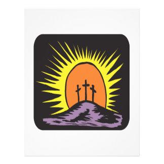 Cruz de Pascua Tarjeton