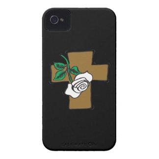 Cruz de Pascua iPhone 4 Protectores