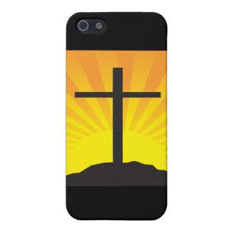 Cruz de Pascua iPhone 5 Carcasa