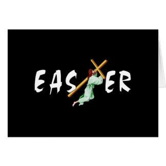Cruz de Pascua Jesús Tarjeta Pequeña