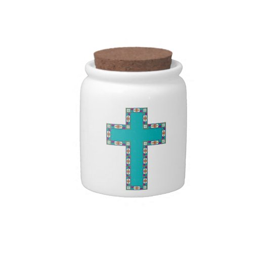 Cruz de Pascua Platos Para Caramelos