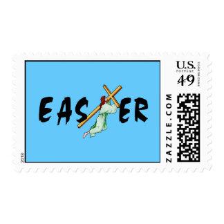 Cruz de Pascua Sellos Postales