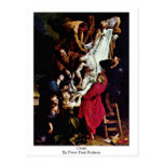 Cruz de Peter Paul Rubens Tarjeta Postal