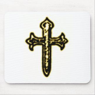 Cruz de San Jaime en tono de la sepia Tapetes De Raton
