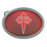 Cruz de San Jaime Hebillas Cinturón Ovales