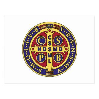 Cruz de St. Benedicto Tarjetas Postales