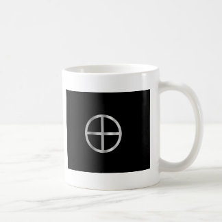 Cruz de Sun del Gnosticism Taza