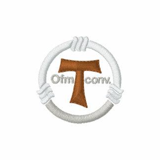 Cruz de Tau y cuerda del franciscano Camiseta Polo
