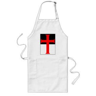 Cruz de Templar en Beausant Delantales