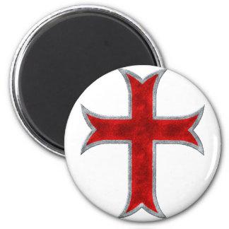 Cruz de Templar Imán Para Frigorífico