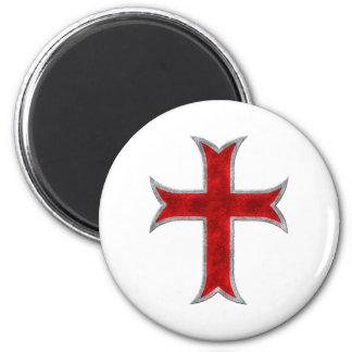Cruz de Templar Imán Para Frigorifico
