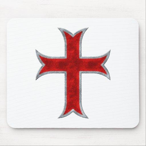 Cruz de Templar Mousepad