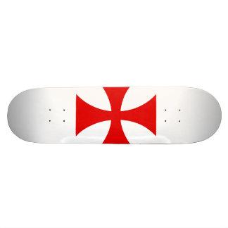 Cruz de Templar Monopatin Personalizado