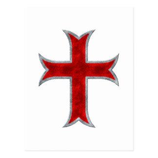 Cruz de Templar Postal