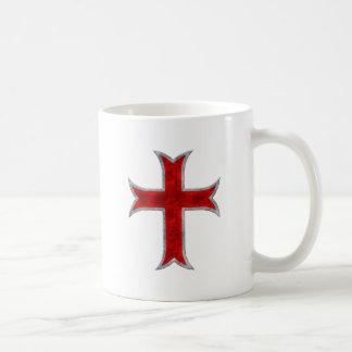 Cruz de Templar Taza