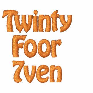 Cruz de Twinty Foor 7ven/Motor Sudadera Bordada Con Capucha