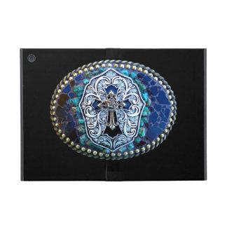 Cruz del azul del vintage iPad mini cobertura